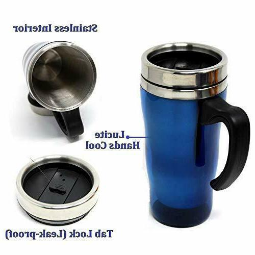 Stainless Travel Mug With Proof