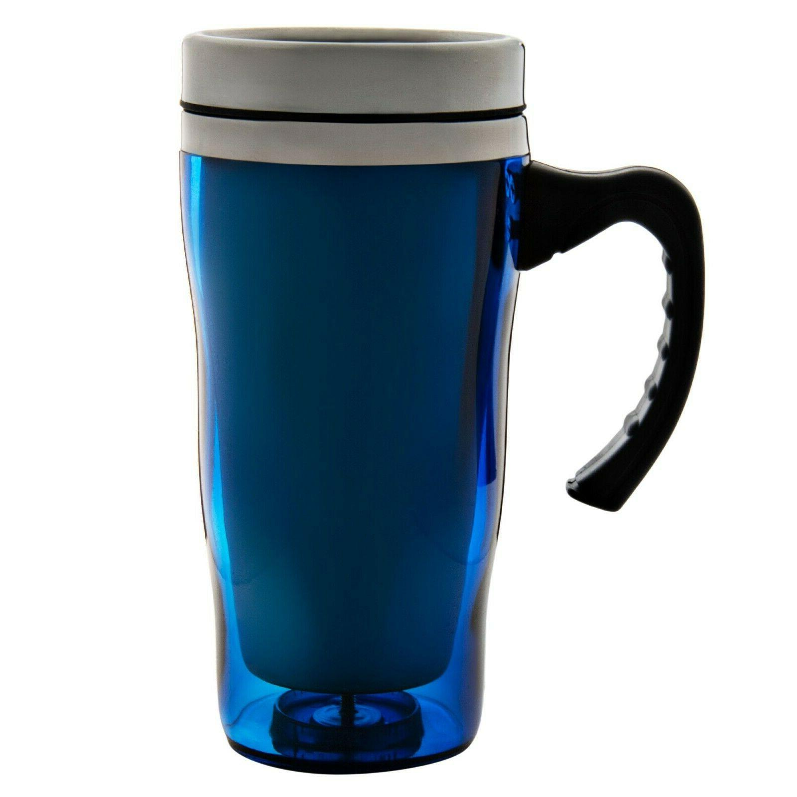 16 Oz. Thermos Travel Mug with Handle Stainless Steel Therma