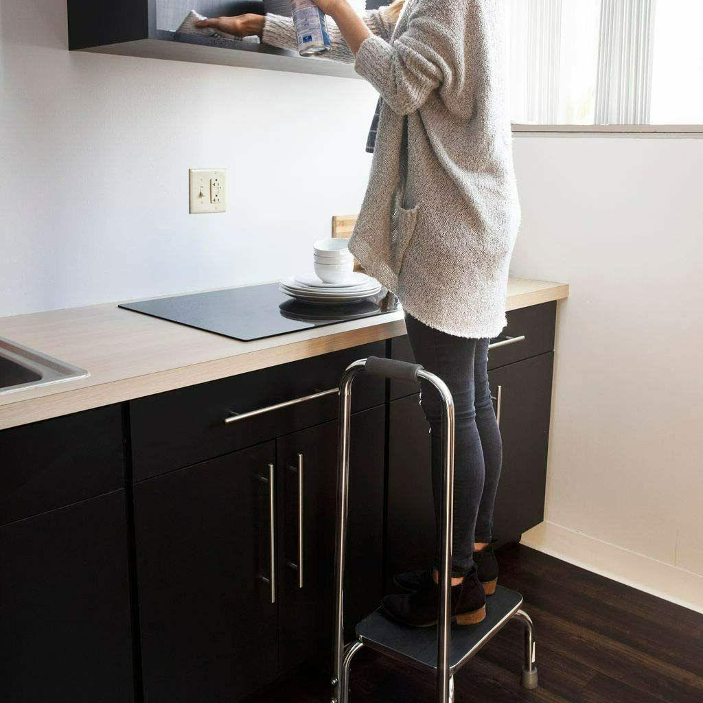 Step Stool Handle for Metal Stepping High