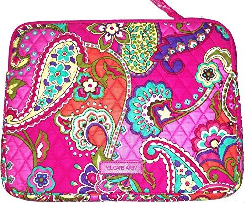 tablet sleeve pink swirls fits