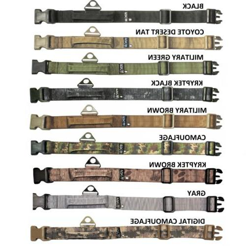 TACTICAL DOG COLLAR HEAVY DUTY WORKING TRAINING WITH HANDLE PLASTIC