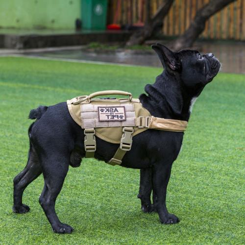 Molle Handle or XS Dogs
