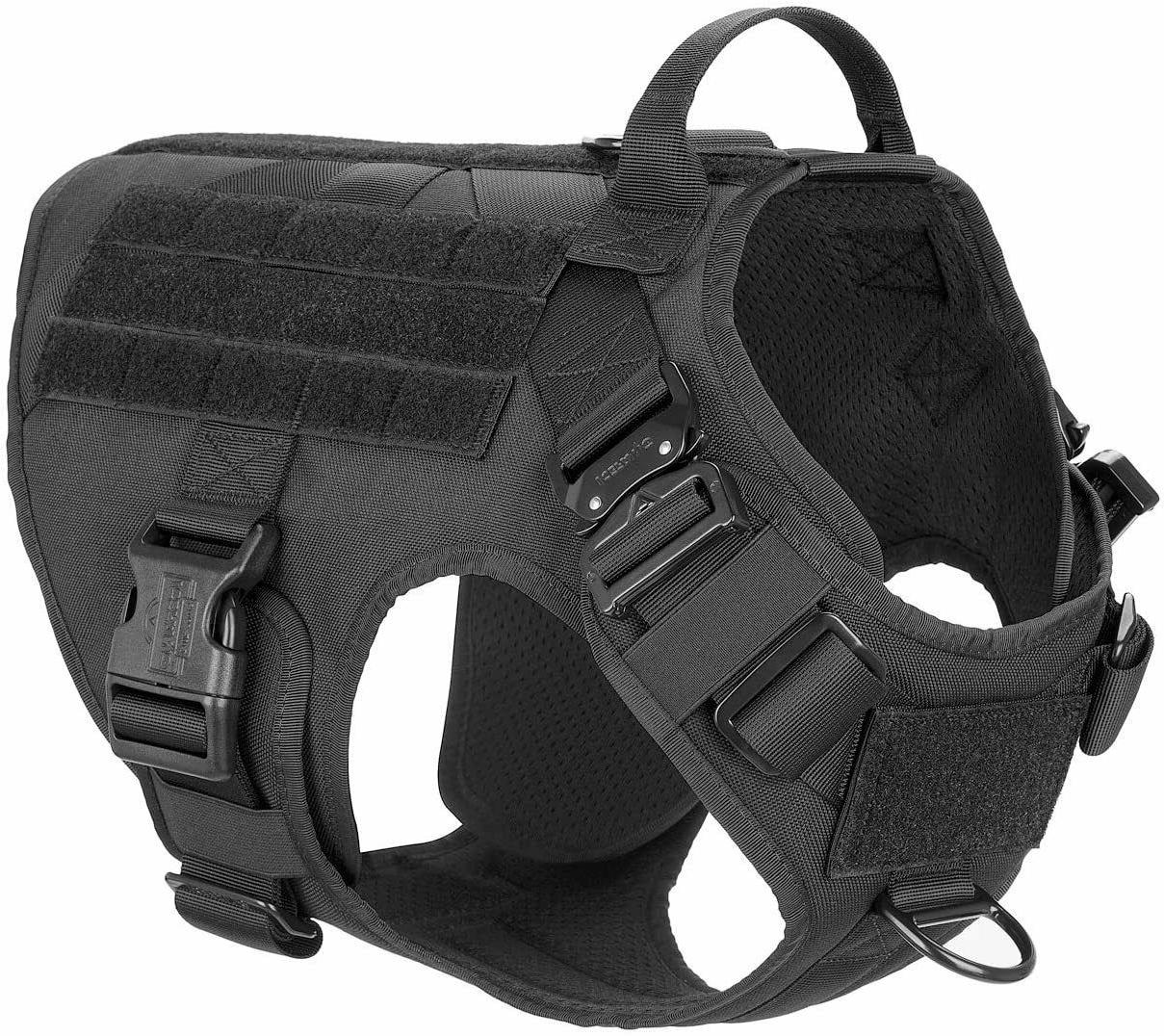 Tactical Dog Harness with Handle Large Dog Dog