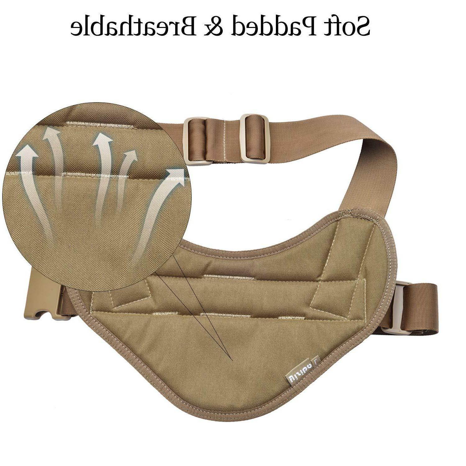 Tactical K9 Dog Harness Vest with Handle