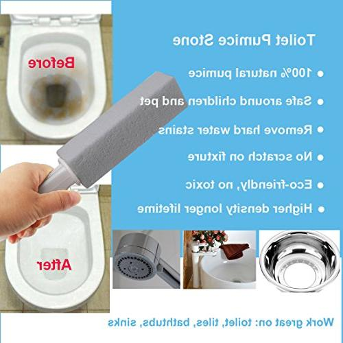 Comfun Toilet Cleaning Stains and Ring Griddle Bath/ Cleaning