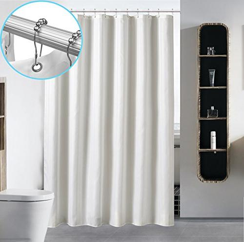 waterproof fabric shower curtain liner