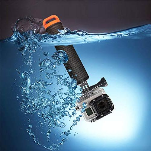 Waterproof Compatible with GoPro Hero 7 5 4 3+ 1 Handler/Handle Mount Kit Water Action Cameras and Cell Phone Floating