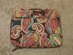 Vera Bradley Laptop Organizer Heirloom Paisley with handle