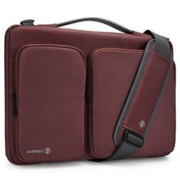 tomtoc 14 Inch Laptop Shoulder Bag with CornerArmor Protecti