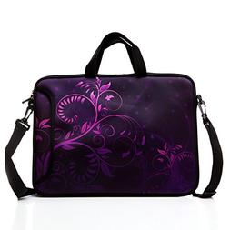 10-Inch Laptop Shoulder Bag Sleeve Case with Padded Handle f