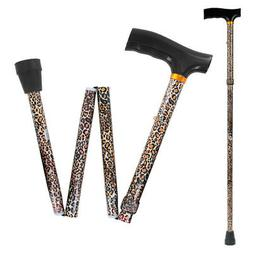 Drive Medical Lightweight Adjustable Folding Cane with T Han