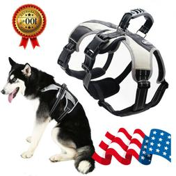 Lightweight Escape-Proof Reflective Dogs Vest with Lift Hand