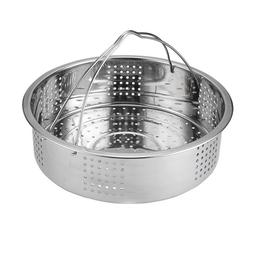 Lightweight Stainless Steel Steamer Basket with Handle for I