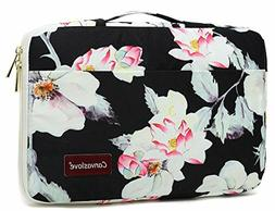 Lotus Waterproof Laptop sleeve bag case with pockets and han
