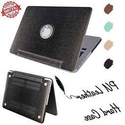 IC ICLOVER MacBook Air 11 inch Case, Silky Soft PU Leather C