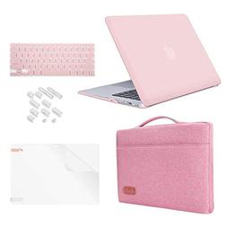 "MacBook Pro 15"" Case Bundle 5 in1,iCasso Rubber Coated Cover"