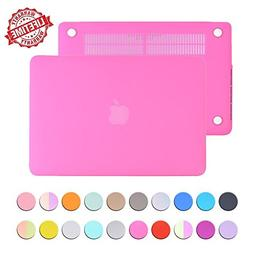 MacBook 12 inch Case Cover, IC ICLOVER Matte Plastic Hard Sh