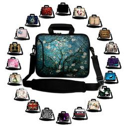 many 17 laptop sleeve with handle shoulder