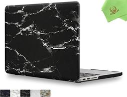 UESWILL Marble Pattern Smooth Soft-Touch Hard Shell Case Cov
