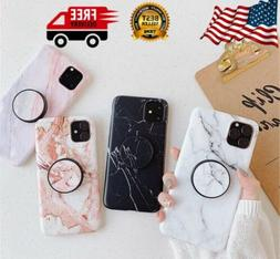 Marble Phone Case Cover For iPhone 11 Pro Max With Handle St