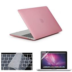 Matte Frost Hard Shell Cover + Keyboard Cover + Screen Prote