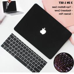 Matte Hard Shell Case+Keyboard Skin+LCD Film For Macbook Pro