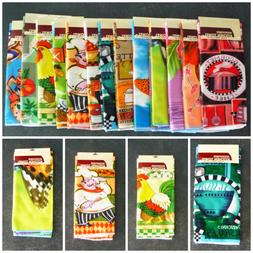 "Microfiber 16"" x 24"" Colorful  Bright Kitchen Towels 20 Patt"
