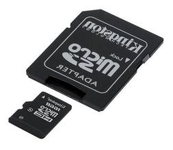 Professional Kingston 16GB MicroSDHC Dell Millenium with cus