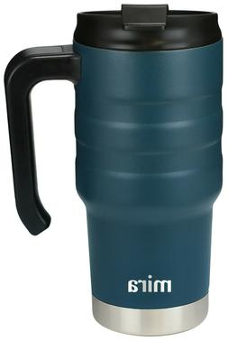 MIRA 20oz Stainless Steel Vacuum Insulated Travel Car Mug wi