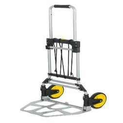 Mount-It! Folding Hand Truck and Dolly with Telescoping Hand