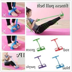 Multi-Function Tension Rope with Handle Fitness Elastic Resi