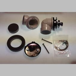 New Dishwasher Waste and Overflow Kit Chrom Plated Fitting 1