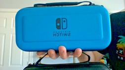 NINTENDO SWITCH Zipper Bag hard Carrying Case With Handle BL