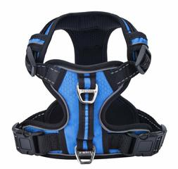 PUPTECK No-Pull Reflective Dog Harness with Vertical Handle
