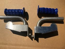 NOS Atari Paperboy Handle Bar pieces - left and right - with
