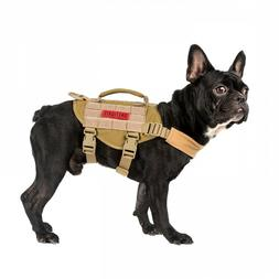 OneTigris Tactical Dog Harness Molle Nylon Vest with Handle