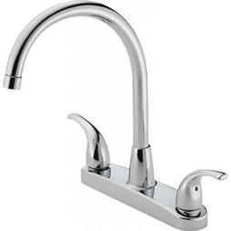Peerless P299568LF Choice Two Handle Kitchen Faucet, Chrome