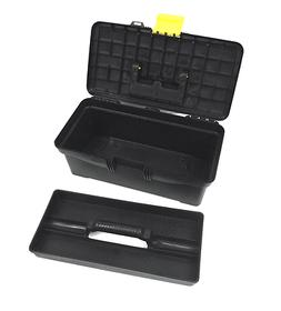 Plastic Toolbox with Handle Art Craft Storage Case Carry Too