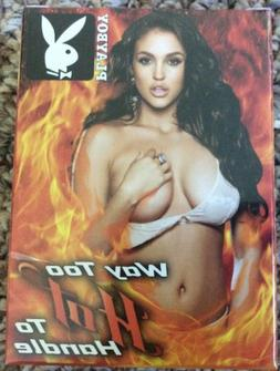 Playboy's Way To Hot To Handle Trading Cards Base Set With B