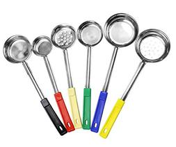 Portion Control Serving Spoons ; w 1/4 Cup, 1/2 Cup, 3/4 Cup