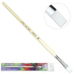 Ginza Professional Quality Gel Nail Art Brush with White Woo