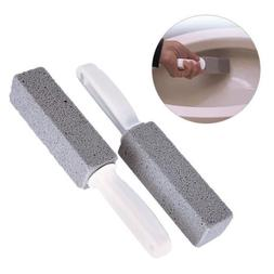 Pumice Cleaning Stone with Handle for Toilet Bowl Fine Grit