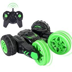 SGILE RC Remote Control Stunt Car Xmas Gift Toy for Kids, Ra