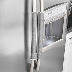 Ougar8 Refrigerator Door Handle Covers Protective Electrical