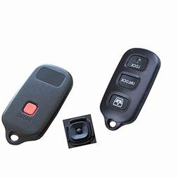 TCKEY New Replacement Car Key Keyless Remote Shell Pad Loop