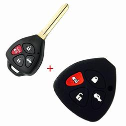 Replacement Car Keyless Entry Housing 4Bts Remote Key Shell