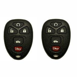 TCKEY 2pcs Replacement New Transmitter Remote Keyless Fob Ke