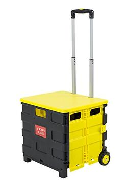 Mount-It! Rolling Utility Cart, Folding and Collapsible Hand