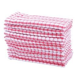 Set 12 Pc Dish Cloth High Quality 100% Cotton Kitchen Towels