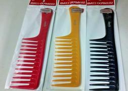 shampoo comb with handle wide tooth 22